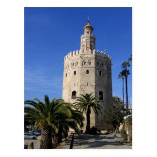 Torre Del Oro Postkarte