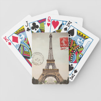 Torre Eiffel Bicycle Spielkarten