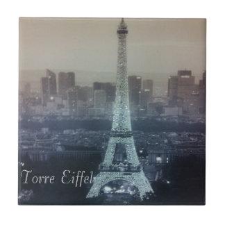 Torre Eiffel kleine Keramik 4x4.25 Fliese