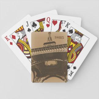 Torre Eiffel Spielkarten