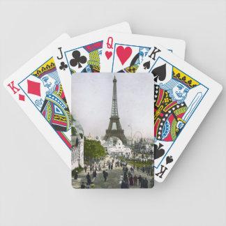 Torre Eiffel Universelle Ausstellung von Paris Bicycle Spielkarten