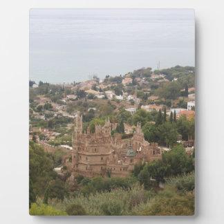 Torremolinos-Ansicht-Strecke - Spanien Fotoplatte