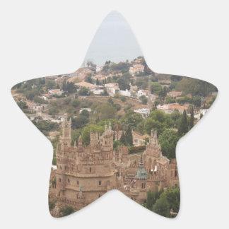 Torremolinos-Ansicht-Strecke - Spanien Stern-Aufkleber