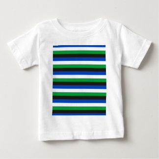 Torres Straße-Inselbewohnerflaggenstreifen Baby T-shirt