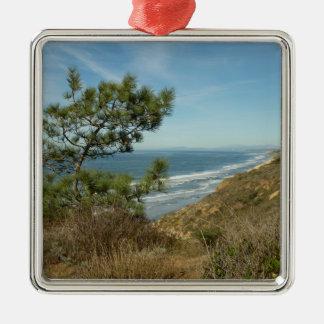 Torrey Kiefern-und Silbernes Ornament
