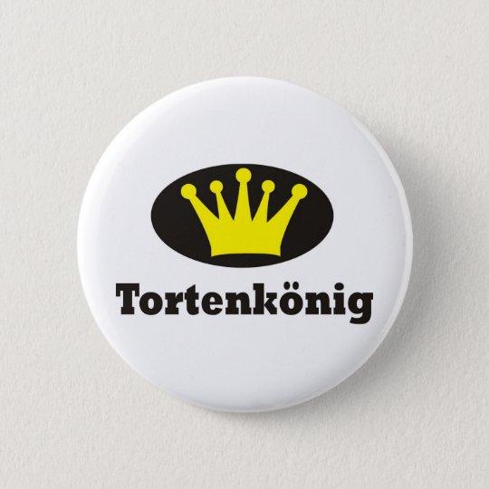 Tortenkönig Runder Button 5,7 Cm
