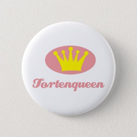 Tortenqueen Runder Button 5,7 Cm