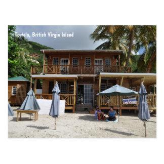 Tortola, britische Jungfrau-Insel-Strand-Postkarte Postkarte