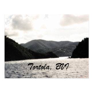 Tortola, BVI Postkarte