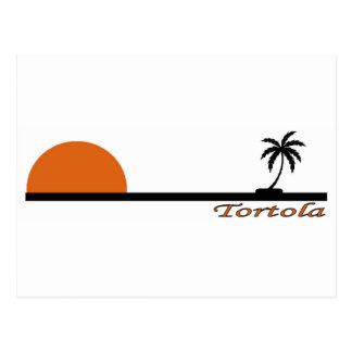 Tortola Postkarte