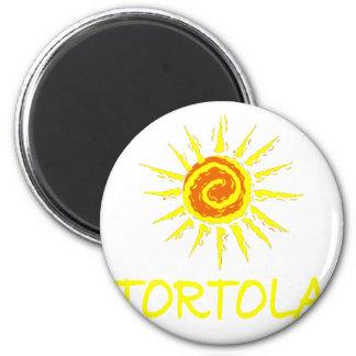 Tortola Runder Magnet 5,7 Cm