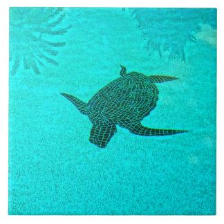 Tortuga Schildkröte-Mosaik auf Sanibel Insel Fliese