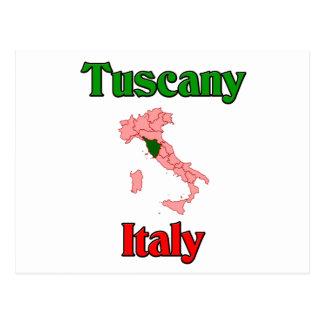 Toskana Italien Postkarte