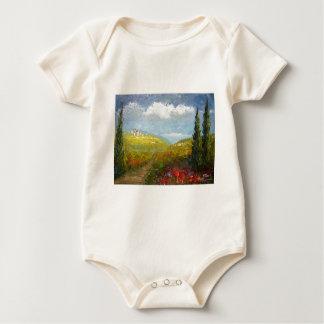 Toskana-Italiener-Dorf Baby Strampler