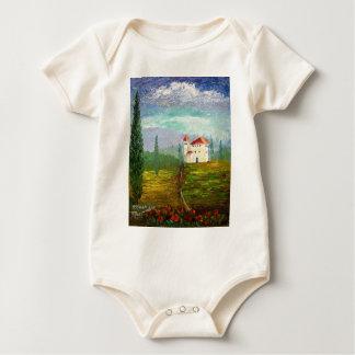 Toskana-Palette Baby Strampler
