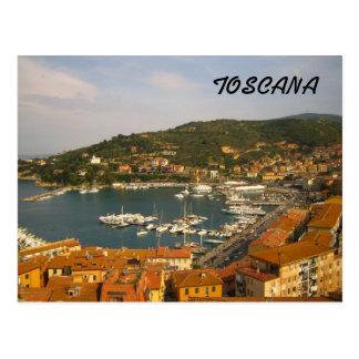 Toskana-Postkarten Postkarte