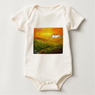 Toskana-Sonnenschein Baby Strampler