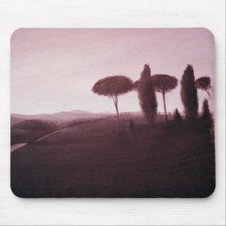 Toskanische Landschaft 1992 Mousepad