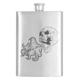 Tot aber lebendig taschenflaschen
