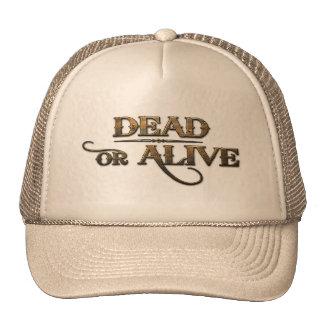 Tot oder lebendig retrokultkappe