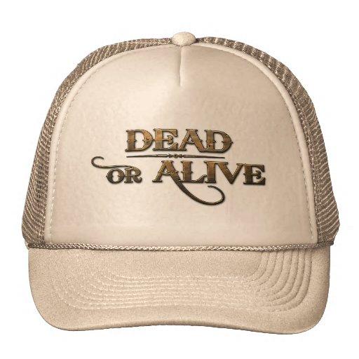 Tot oder lebendig baseball caps