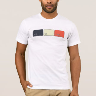 Total Alt von Ctrl T-Shirt