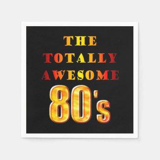 Total fantastischer 80er servietten