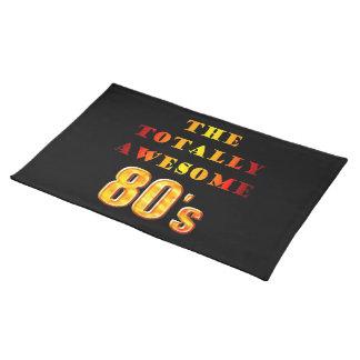 Total fantastischer 80er stofftischset