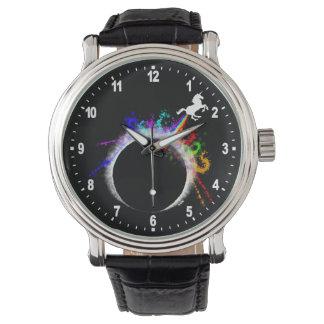 Total magische Eklipse Armbanduhr