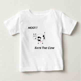 Total niedlich! Das MOO-Shirt der Babys Baby T-shirt