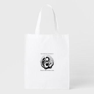 Tote Bag mit Logo Autorin Virginia B. Robilliard Wiederverwendbare Einkaufstasche