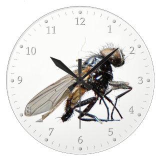 Tote Fliege Große Wanduhr