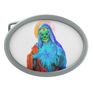Tote Mary Ovale Gürtelschnalle