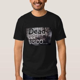 Tote mögen Disco, schwarze Männer des T - Shirt