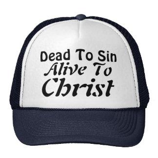 Tote Sin; Lebendig zu Christus Retromütze