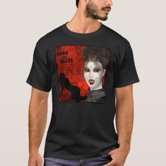 Tote sind - grundlegender dunkler T - Shirt