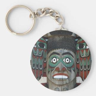 Totempfahl Keychain Schlüsselanhänger