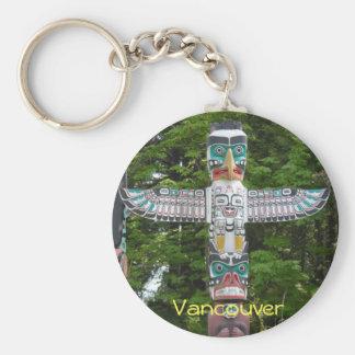 Totempfähle - Stanley-Park, Vancouver Schlüsselanhänger