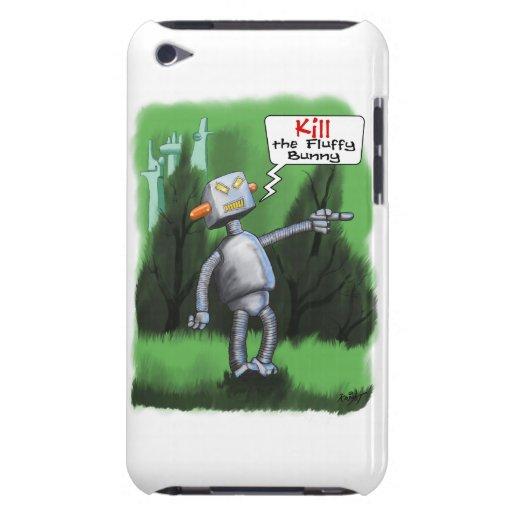 Töten Sie das flaumige Häschen iPod Case-Mate Hüllen