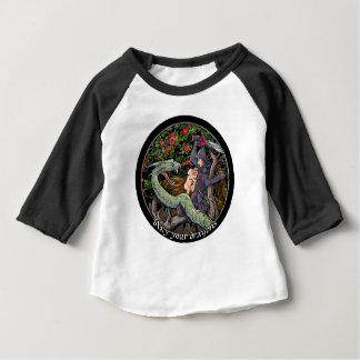 TÖTEN Sie IHRE DRACHEN, mittelalterliche Kunst, Baby T-shirt