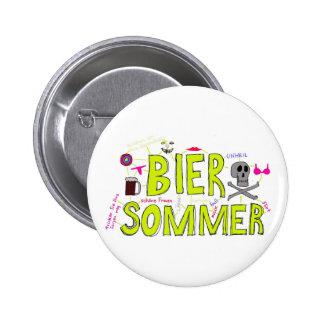 Totenbahre Sommer Anstecknadelbuttons
