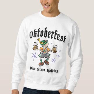 Totenbahre Stein, der Oktoberfest hält Sweatshirt