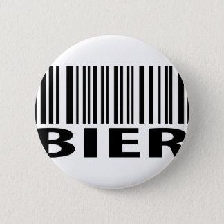 Totenbahrencodeikone Runder Button 5,1 Cm