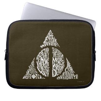 TOTENHALLOWS™ Typografie-Grafik Laptop Computer Schutzhülle