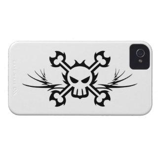 Totenkopf mit gekreuzter Case-Mate iPhone 4 hülle