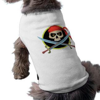 Totenkopf mit gekreuzter Knochen 3D Top