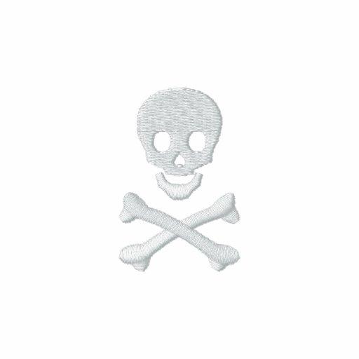 Totenkopf mit gekreuzter Knochen Poloshirt