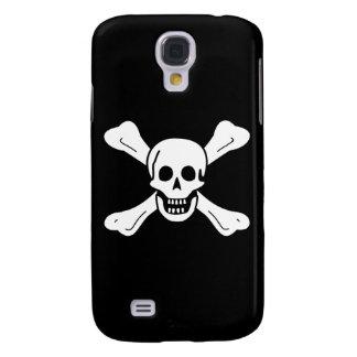 Totenkopf mit gekreuzter Knochen Galaxy S4 Hülle