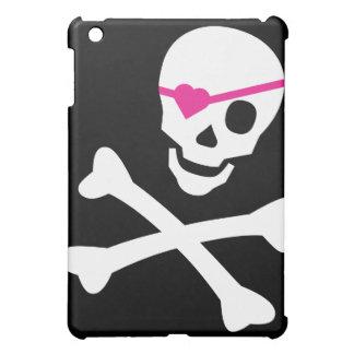 Totenkopf mit gekreuzter Knochen Hüllen Für iPad Mini