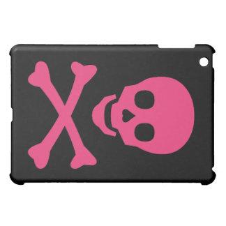 Totenkopf mit gekreuzter Knochen iPad Mini Hülle